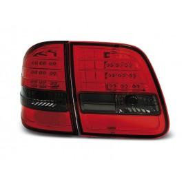 Mercedes E-klasa Kombi  (W210) red/black LED - DIODOWE  LDME90