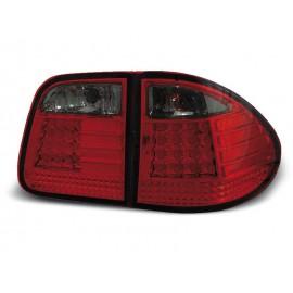 Mercedes E-klasa Kombi  (W210) red/black LED - DIODOWE  LDME11