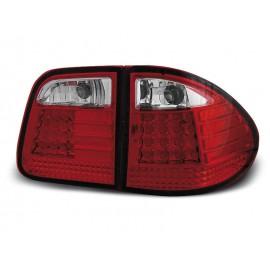 Mercedes E-klasa Kombi  (W210) red/white LED - DIODOWE LDME10
