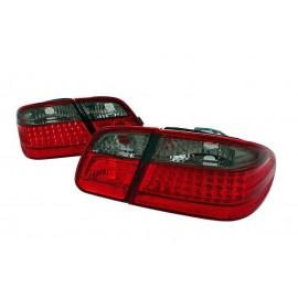 Mercedes E-klasa Sedan (W210) red / black LED - DIODOWE  LDME29