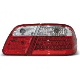 Mercedes E-klasa Sedan (W210) red / white LED - DIODOWE  LDME01