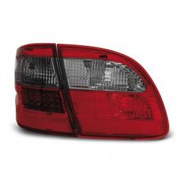Mercedes E-klasa Kombi  (W211) red / black LED - DIODOWE  LDME82