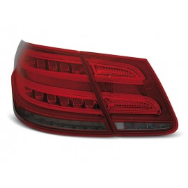 Mercedes E-klasa Sedan (W212) smoked red LED BAR - DIODOWE  LDME98