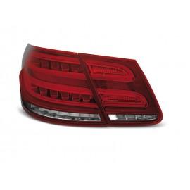 Mercedes E-klasa Sedan (W212) red / white LED BAR - DIODOWE  LDME97