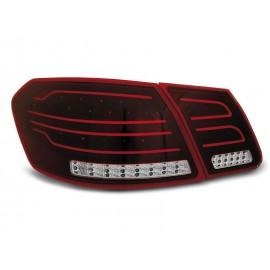 Mercedes E-klasa Sedan (W212) red / white LED BAR - DIODOWE  LDME87