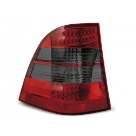 Mercedes M-klasa (W163) clear Red / Black LED DIODOWE  LDME05
