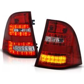 Mercedes M-klasa (W163) clear Red / White LED DIODOWE  LDME21