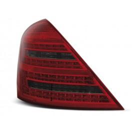 Mercedes S-klasa (W221) red / black LED - DIODOWE  LDME51