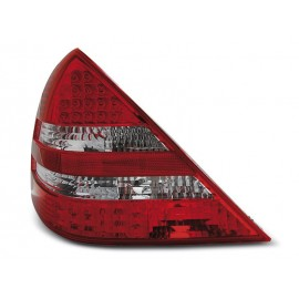 Mercedes SLK R170 Red / White LED diodowe LDME52 DEPO
