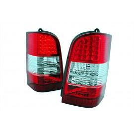 Mercedes Vito (W638) red white LED - czerwono / białe  DIODOWE  LDME32