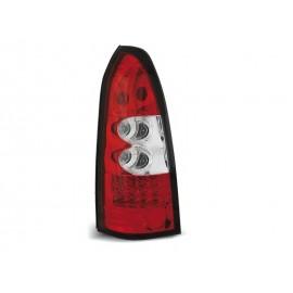 Opel Astra G Caravan - clearglass LED Red/White - diodowe LDOP09