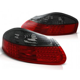 Porsche Boxster - Red / Black LED - diodowe  LDPO06