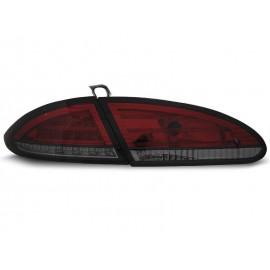 Seat Leon II 1P -  Smoked Red LED - DIODOWE  LDSE12