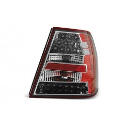 VW Bora  clearglass RED WHITE LED diodowe  LDVW63