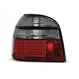 VW Golf 3 Red/White LED Czerwono/Białe Diodowe  LDVW50