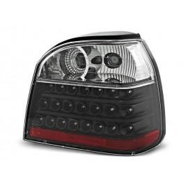 VW Golf 3  - clearglass LED BLACK - diodowe  LDVW11
