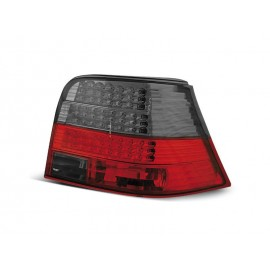 VW Golf 4 clear RED / BLACK LED  diodowe LDVW32 DEPO