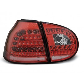 VW Golf 5 clearglass LED RED / WHITE diodowe LDVW69