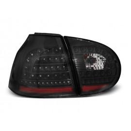VW Golf 5 clearglass LED Black diodowe Czarne LDVW68