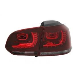VW Golf 6 RED / WHITE LED czerwono białe diodowe GTI-Look LDVW70 DEPO