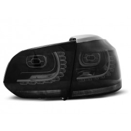 VW Golf 6 BLACK LED czarne dymione diodowe GTI-Look  LDVW72 DEPO