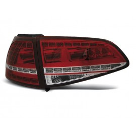 VW Golf 7 - Red / White LED GTi Look - DIODOWE  LDVWG0