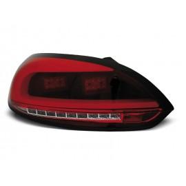 VW Scirocco III   RED / WHITE LED BAR czerwono białe diodowe  LDVWC1