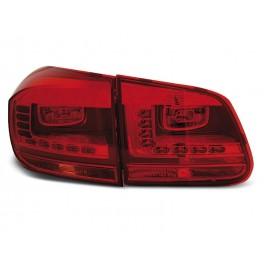VW Tiguan II - RED LED -  diodowe LDVWD2