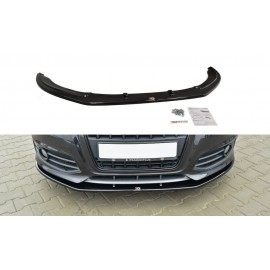 Przedni Splitter / dokładka ABS (ver.2)- AUDI S3 8P FL 2009-