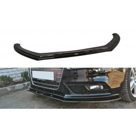 Przedni Splitter / dokładka ABS (ver.1) - Audi A4 B8 FL
