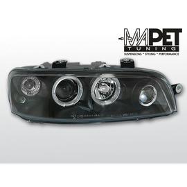 Fiat Punto II  clear Angel Eyes BLACK soczewka ringi LPFI02