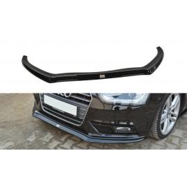 Przedni Splitter / dokładka ABS (ver.2) - Audi A4 B8 FL