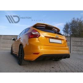 Dyfuzor Tylnego Zderzaka ABS - Ford Focus mk3 ST RS 2015 Look