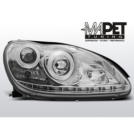 Mercedes S-klasa W220 98-05  CHROM  LED diodowe  LPME51