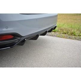 Dyfuzor Tylnego Zderzaka ABS - Fiat Tipo S-Design