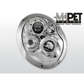 Mini Cooper 01-06 Angel Eyes CHROM soczewki ringi LPMC01
