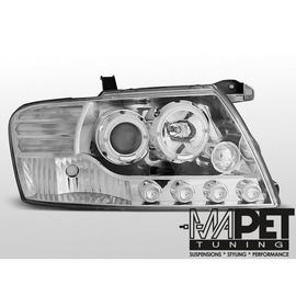 Mitsubishi Pajero 01-06 Angel Eyes CHROM soczewka ringi LPMI07