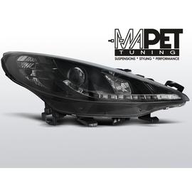 Peugeot 207 - BLACK LED - diodowe  LPPE23
