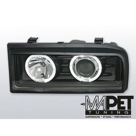 VW Corrado clear Angel Eyes BLACK soczewka ringi LPVW36
