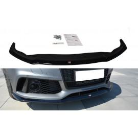 Przedni Splitter / dokładka ABS (wer.2) - Audi RS7 Facelift
