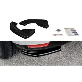 Splittery Boczne Tylnego Zderzaka ABS - Renault Clio Mk4