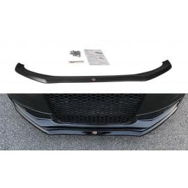 Przedni Splitter / dokładka ABS (wer.1) - Audi S4 B8 FL