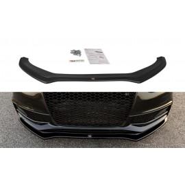 Przedni Splitter / dokładka ABS (wer.2) - Audi S4 B8 FL