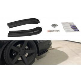 Splittery Boczne Tylnego Zderzaka ABS - Audi S4 B8 Facelift