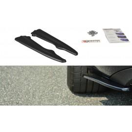 Splittery Boczne Tylnego Zderzaka ABS - MERCEDES E W212 Coupe / Cabrio