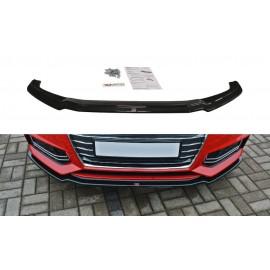 Przedni Splitter / dokładka ABS (ver.1) - Audi A4 B9 S-Line