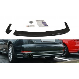 Splitter Tylnego Zderzaka ABS - Audi A4 B9 S-Line Sedan