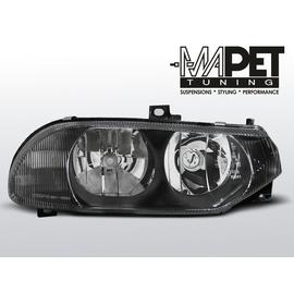 Lampy przód Alfa Romeo 156 - Black  czarne LPAR04