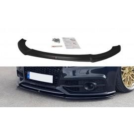 Przedni Splitter / dokładka ABS (wer.1) - Audi A7 S-line