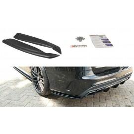Splittery Boczne Tylnego Zderzaka ABS - Mercedes C-klasa S 205 63 AMG Kombi